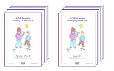 Growing Up Safe Cards, Sets 1 and 2